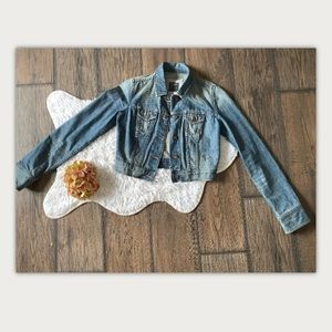 Abercrombie and Fitch size Large Jean Jacket
